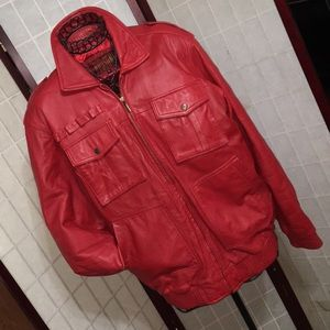 HUDSON OUTERWEAR  Men's size extra large red